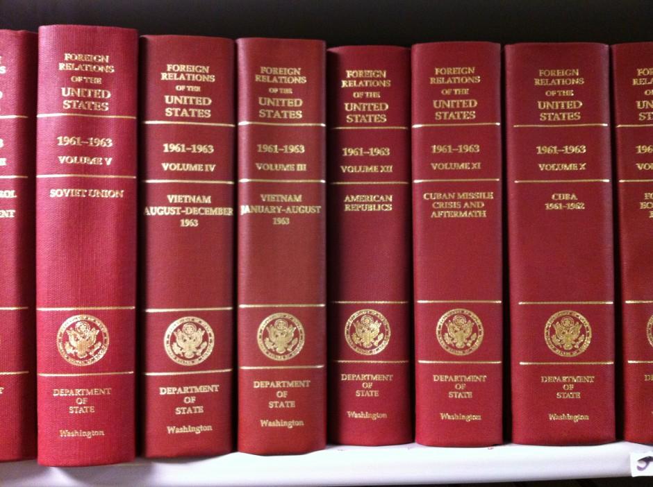 Bookshelf In Conference Room