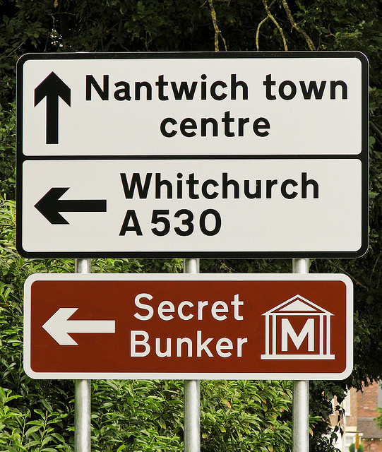 Should you put your work in a secret bunker?
