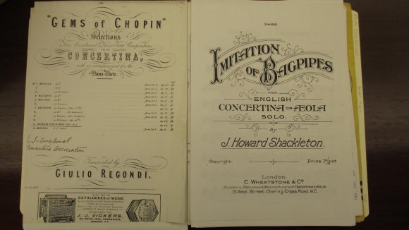 Sheet Music from the Allen Atlas Collection