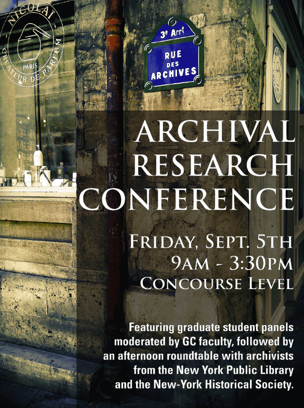 Archival Research Conference