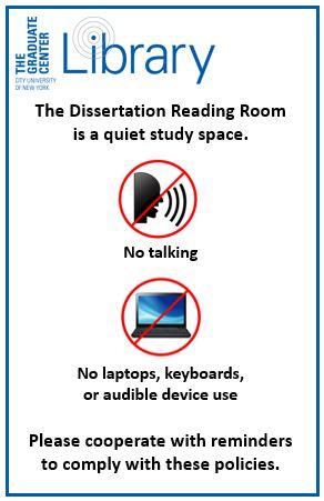 Dissertation reading