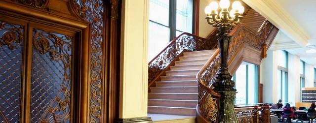 GC Library staircase and elevator