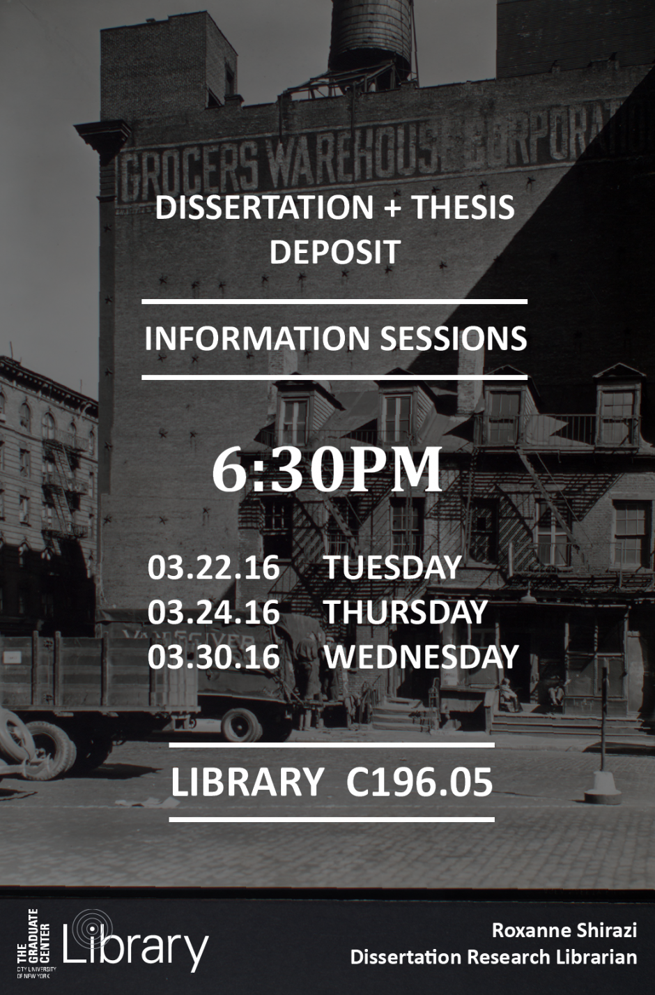 Online dissertation and thesis library