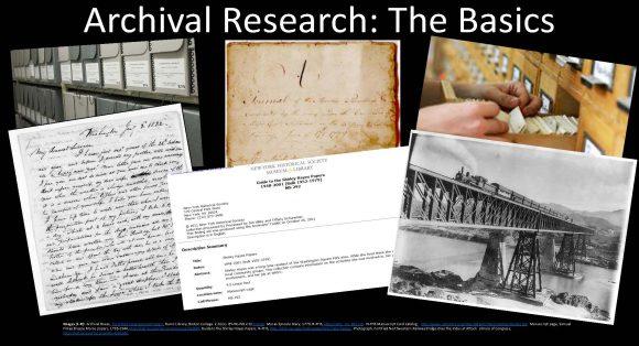 Archival Workshop Announcement Image