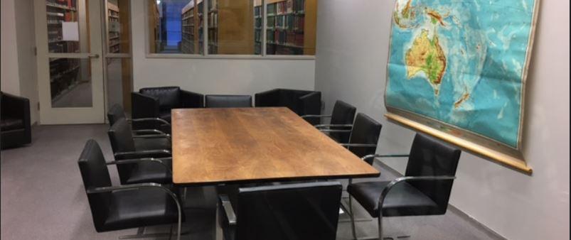 Graduate Study Room Morgan Library