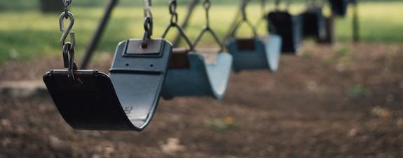 Photo of swing set