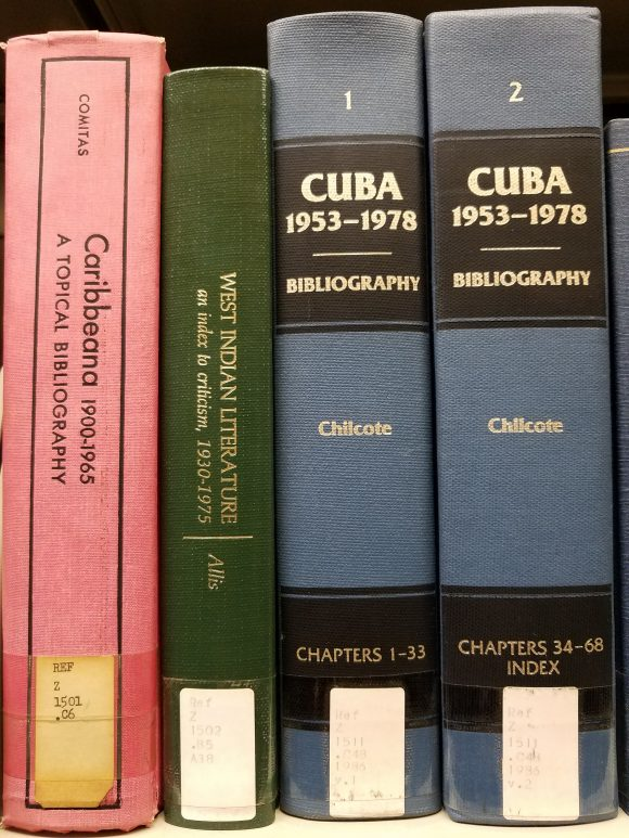 Bibliographies on the GC's Reference Shelves.