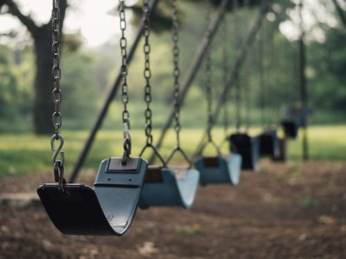 Photo of swing set